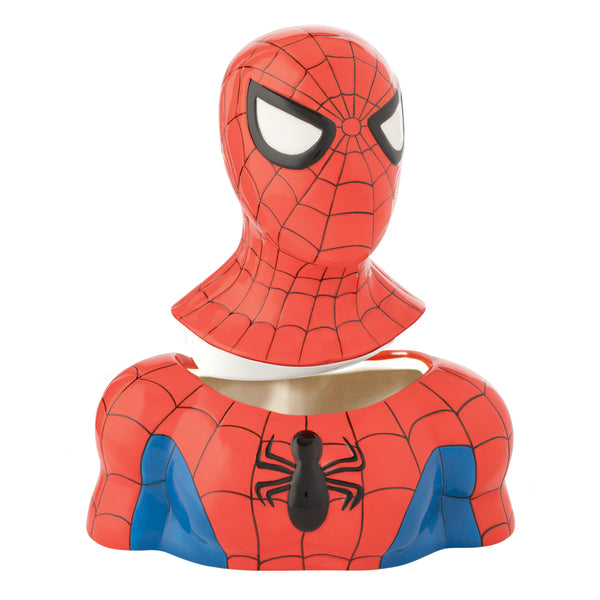 Marvel Spider-man Sculpted Ceramic Cookie Jar
