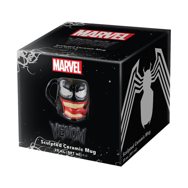 Marvel Venom 20 oz. Premium Sculpted Ceramic Mug