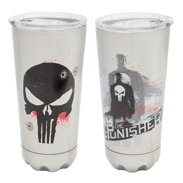 Marvel Punisher 20 oz. Stainless Steel Vacuum Tumbler