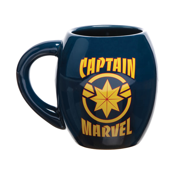 Captain Marvel 18 oz. Oval Ceramic Mug