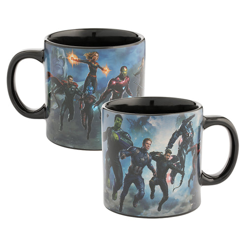 Marvel Avengers Endgame 20 oz. Heat Reactive Ceramic Mug