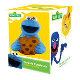 Sesame Street Cookie Monster Sculpted Ceramic Cookie Jar