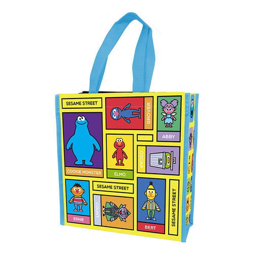 Sesame Street Small Insulated Recycled Tote
