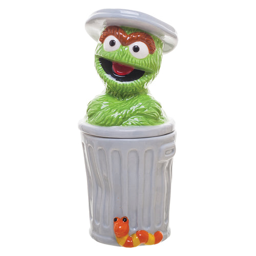 Sesame Street Oscar Sculpted Ceramic Salt & Pepper Set
