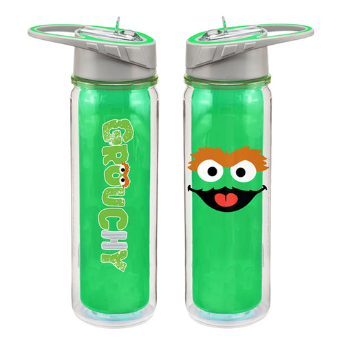 Sesame Street Oscar 18 oz. Tritan Water Bottle