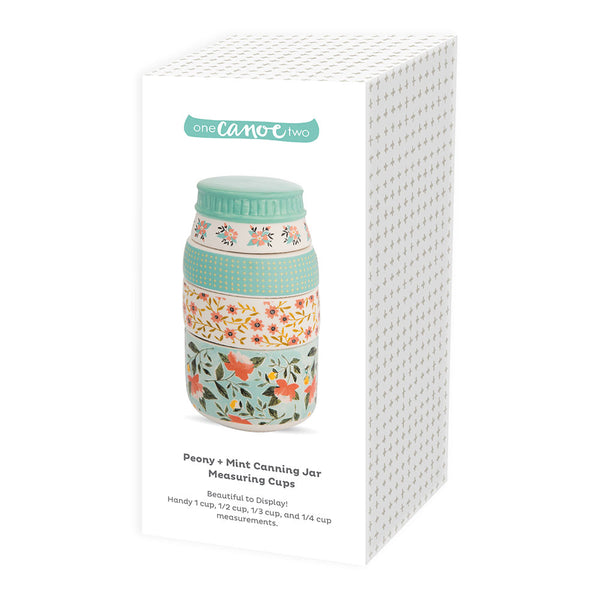 1canoe2 Peony + Mint Canning Jar Measuring Cups