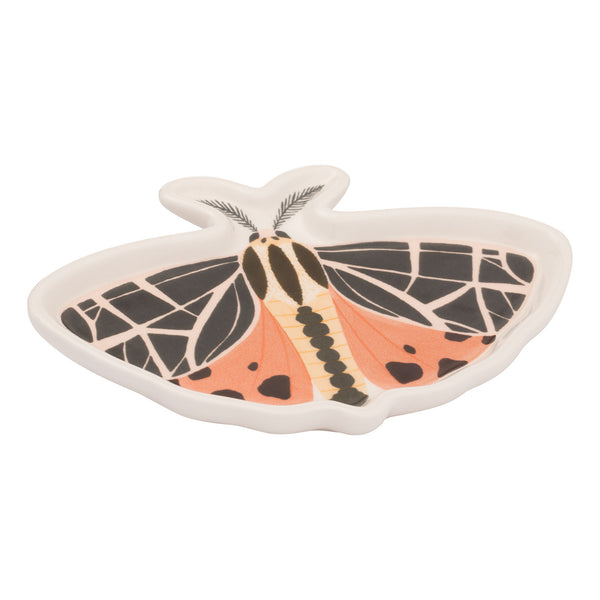 1canoe2 Twilight Moth Shaped Ceramic Trinket Tray