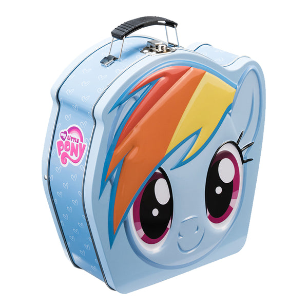 My Little Pony Rainbow Dash Embossed Shaped Tin Tote