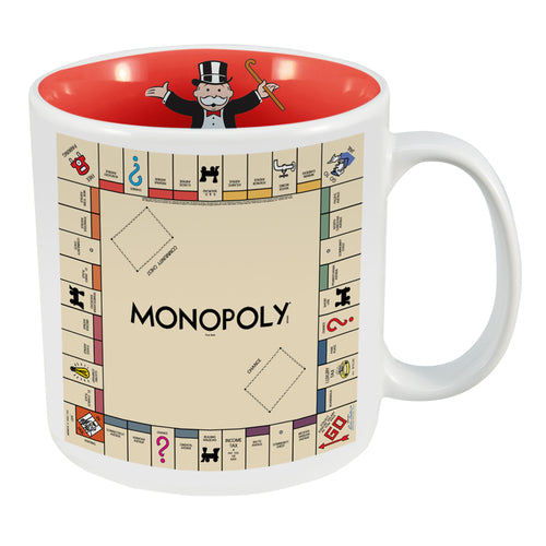 Hasbro Gaming Monopoly 20 oz. Ceramic Mug