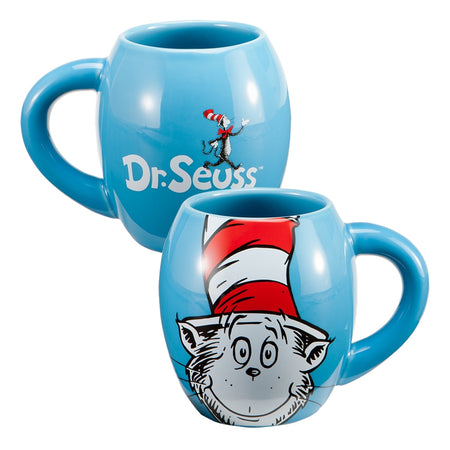 Dr. Seuss The Cat in the Hat Sculpted Ceramic Cookie Jar