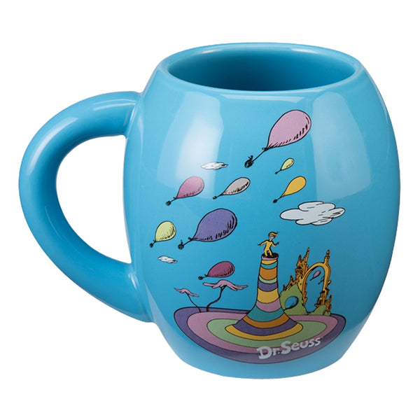 Dr. Seuss Oh the Places You'll Go 18 oz. Oval Ceramic Mug