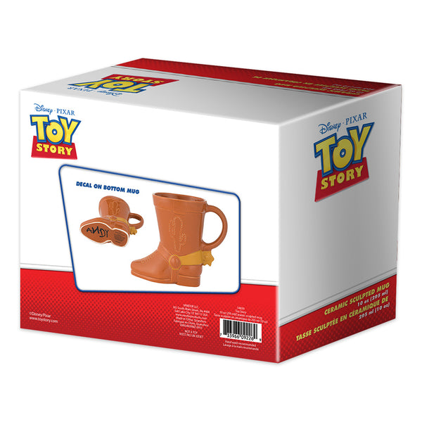 c268aa8c8aa Disney Toy Story Woody Boot 20 oz. Sculpted Ceramic Mug