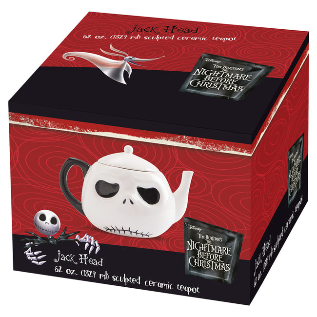The Nightmare Before Christmas Jack Head Teapot