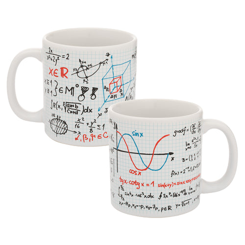 Math 20 oz. Ceramic Mug