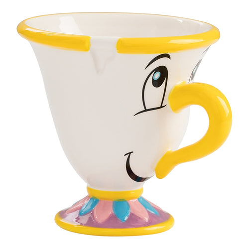 Beauty and The Beast Chip 8 oz. Sculpted Ceramic Tea Cup