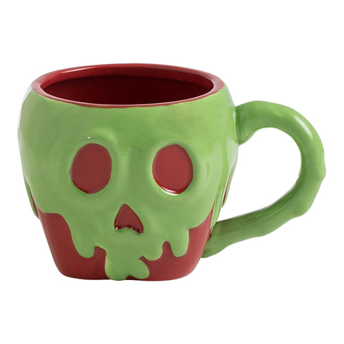 Snow White Poison Apple 16 oz. Sculpted Ceramic Mug