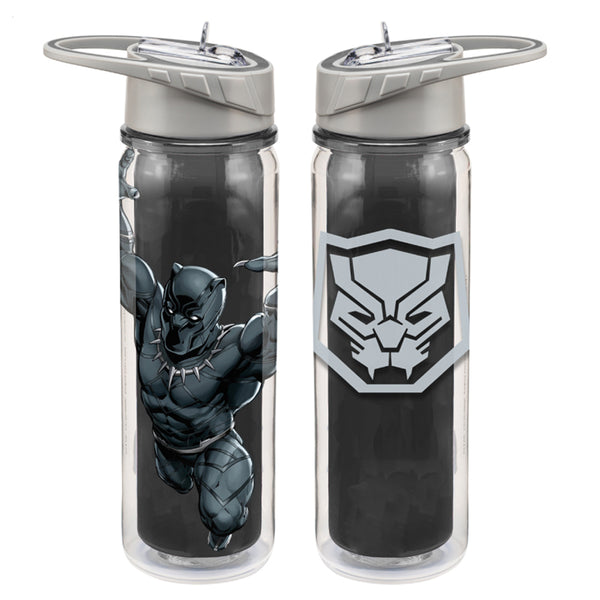 Marvel Black Panther 16 oz. Tritan Water Bottle