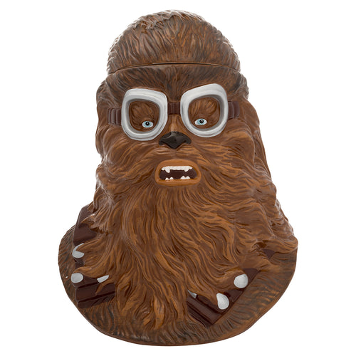 Star Wars Solo Chewbacca Sculpted Ceramic Cookie Jar