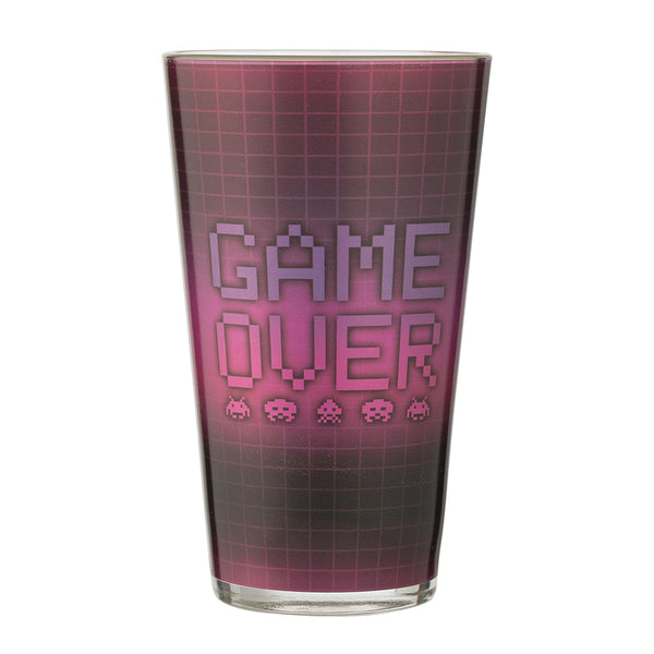 Space Invaders 16 oz. Laser Decal Glass - Set of 2