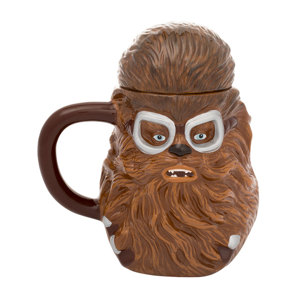 Star Wars Solo Chewbacca 20 oz. Sculpted Ceramic Mug with Lid