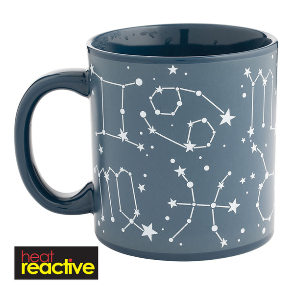 Constellations 20 oz. Heat Reactive Ceramic Mug