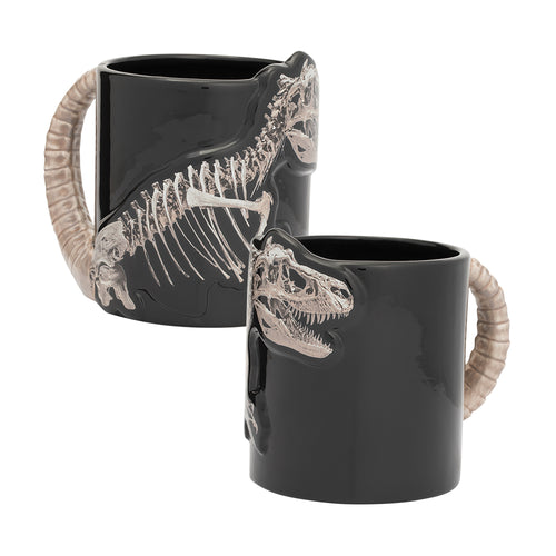 Dinosaur Skeleton 20 oz. Sculpted Ceramic Mug