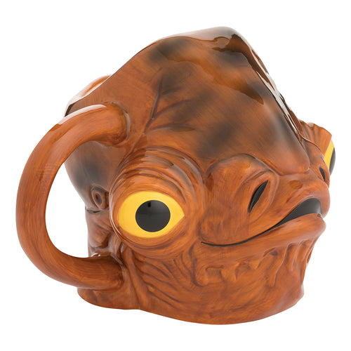 Star Wars Admiral Ackbar 20 oz. Sculpted Ceramic Mug