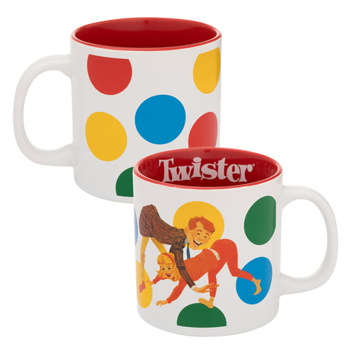 Hasbro Gaming Twister 20 oz. Ceramic Mug