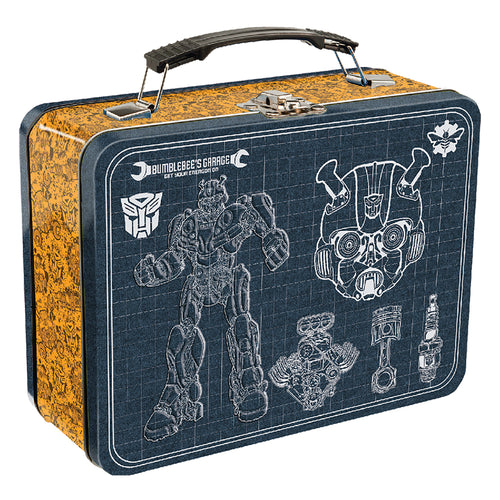 Transformers Bumble Bee Large Tin Tote