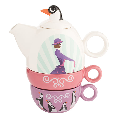 Mary Poppins Ceramic Tea for Two Set