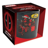Marvel Holiday Deadpool Santa Hat 20 oz. Ceramic Mug
