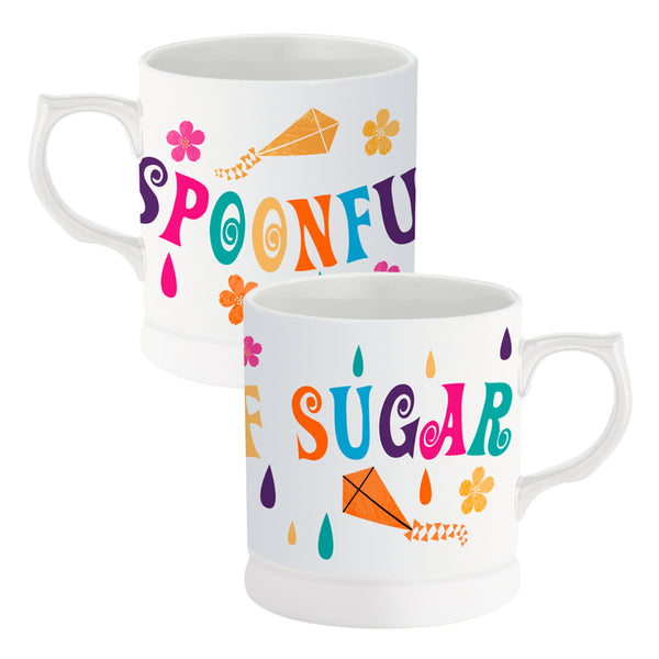 Mary Poppins Spoonful of Sugar 12 oz. Refined Ceramic Mug