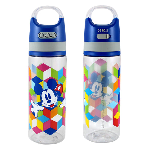 Disney Mickey Mouse 18 oz. Tritan Water Bottles with Wireless Speaker