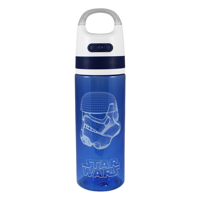 Star Wars Stormtrooper 18 oz. Tritan Water Bottle with Wireless Speaker