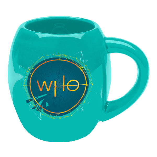 Doctor Who S11 Tardis 18 oz. Oval Ceramic Mug
