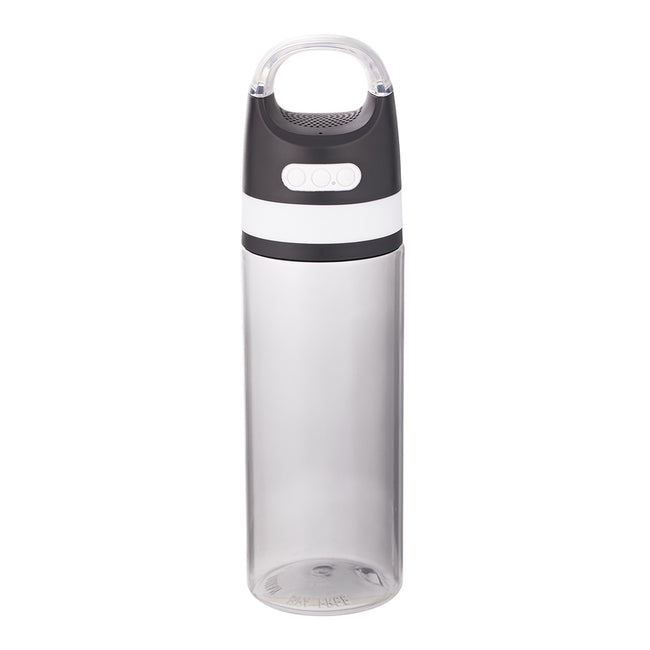 VANDOR Grey 18 oz. Tritan Water Bottle with Wireless Speaker