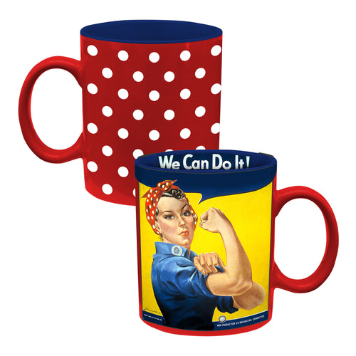 Smithsonian Rosie The Riveter 12 oz. Ceramic Mug