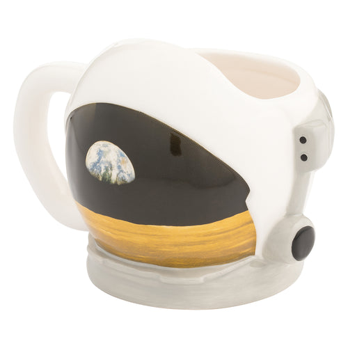 Smithsonian Astronaut Helmet Sculpted Ceramic Mug