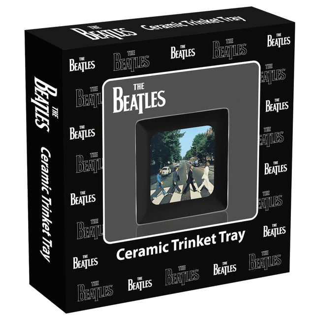 The Beatles Abbey Road Ceramic Trinket Tray