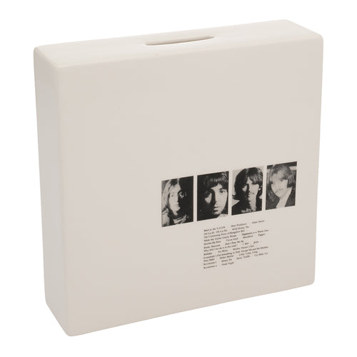 The Beatles White Album Coin Bank