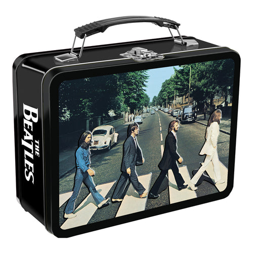 The Beatles Abbey Road Embossed Large Tin Tote