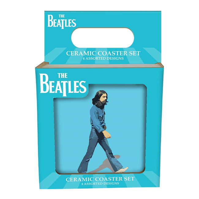 The Beatles Abbey Road 4 pc. Ceramic Coasters