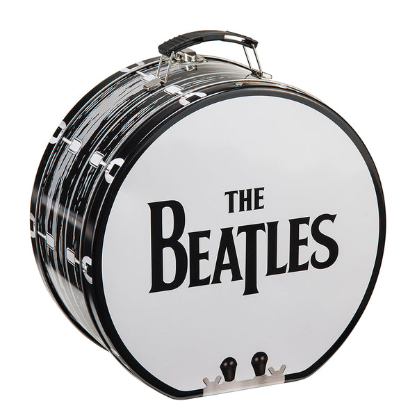 The Beatles Drum Shaped Tin Tote