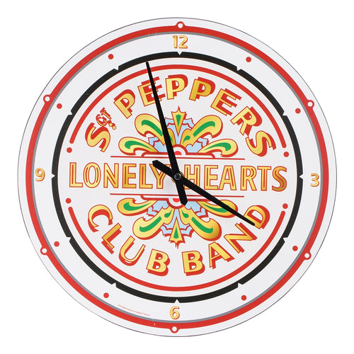 "The Beatles Sgt Pepper's 13.5"" Wall Clock"