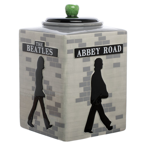 The Beatles Abbey Road Sculpted Ceramic Cookie Jar