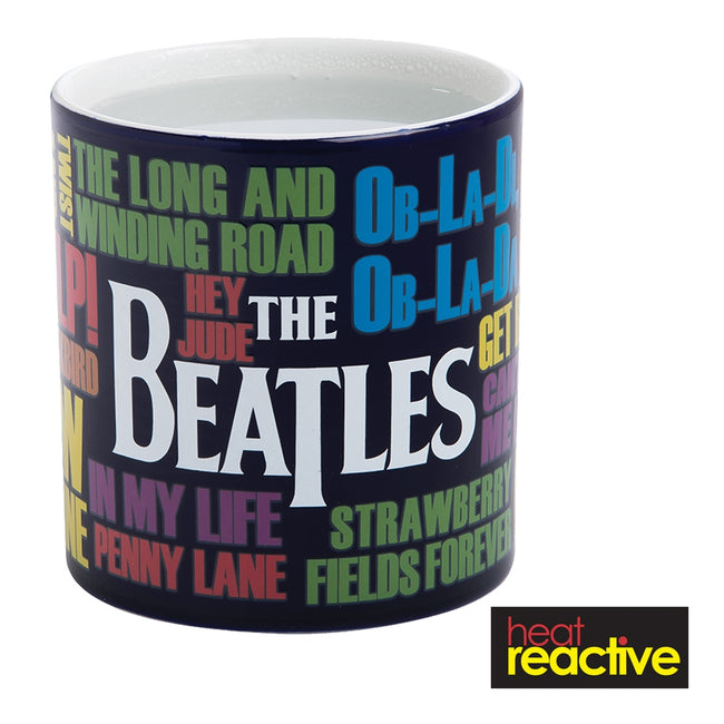 The Beatles Drop T Heat Reactive 20 oz. Ceramic Mug