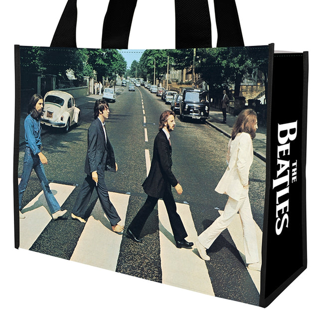 The Beatles Abbey Road Large Recycled Shopper Tote