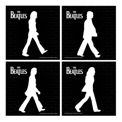 The Beatles Abbey Road Ceramic Coaster - Set of 4