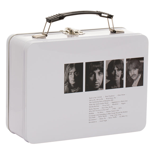 The Beatles White Album Tin Tote