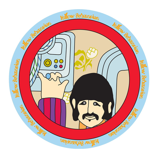 The Beatles Yellow Submarine 4 pc. 8 in. Ceramic Salad Plate Set